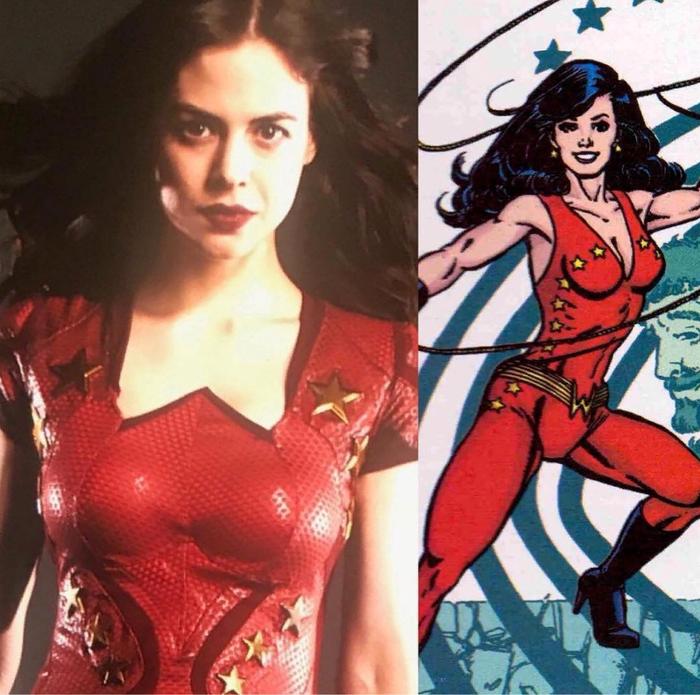 """Костюм Чудо-девушки довольно каноничен, но есть одно """"но""""... DC, Комиксы, Титан, Сериалы, Чудо-Девушка, Конор лесли, Костюм, Канон"""