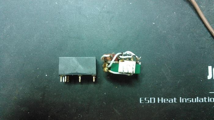 Замена э/м реле на симисторный ключ в выключателе Livolo Livolo, Сенсорный выключатель, Реле, Пайка, Длиннопост