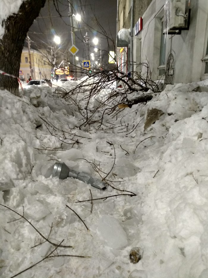Сходил на почту Саратов, Снег, Уборка снега, Замело, Ты не пройдешь
