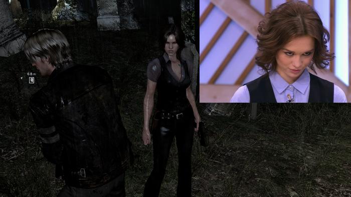 Шурыгина в Resident Evil