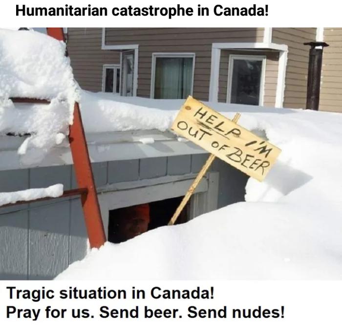 Гуманитарная катастрофа в Канаде Пиво, Трагедия