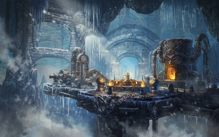 Загрузочные экраны дополнения Wrasthstone для ESO. The Elder Scrolls, The Elder Scrolls Online, Арт, Игры, MMORPG, DLC, Длиннопост