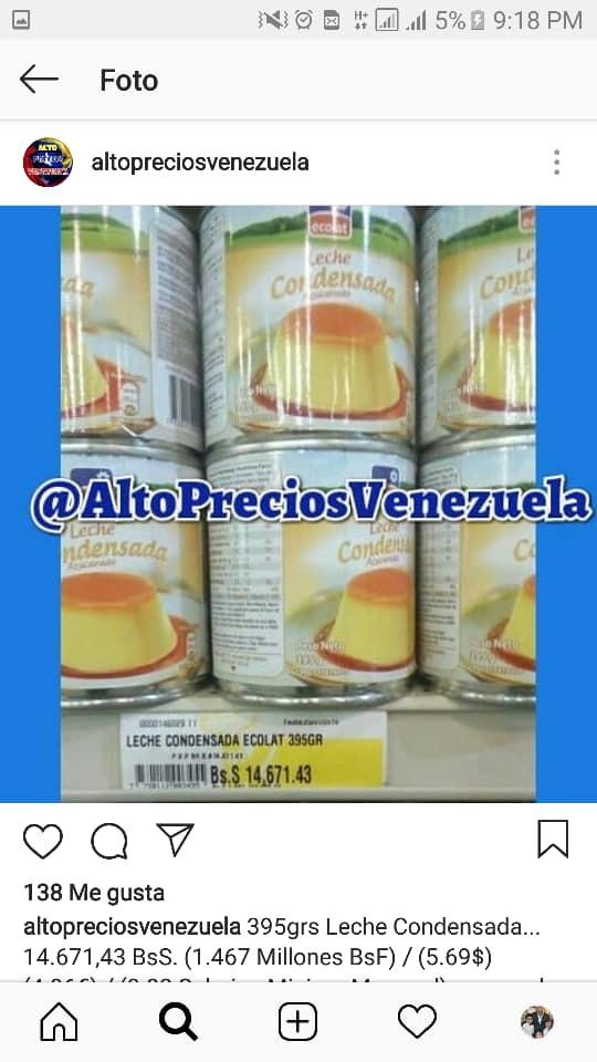 Вот ваша зарплата за месяц. 2 баночки сгущенки... Венесуэла, Венесуэльский кризис, Николас Мадуро