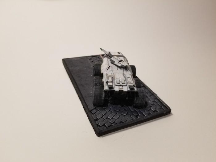 Мако М35 Mass Effect, 3D печать, Миниатюра, Покраска миниатюр, Длиннопост