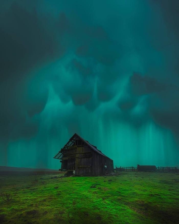 Хижина Фотография, Дом, Хижина, Погода, Природа, Дождь, Буря, Красивый вид