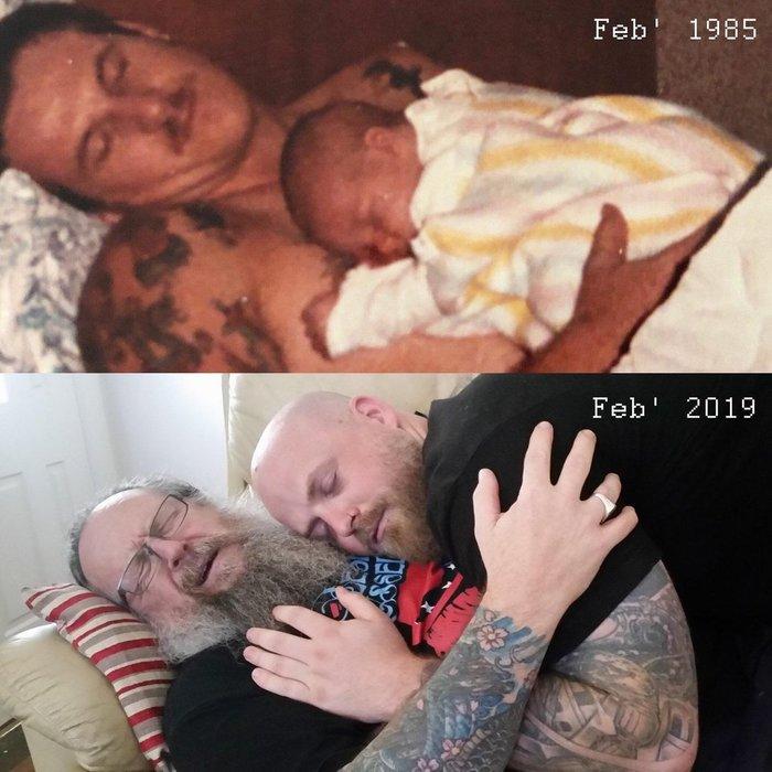 Отец и сын 34 года спустя