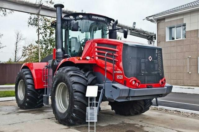 Трактор К-9000 «Кировец»: технические характеристики, фото