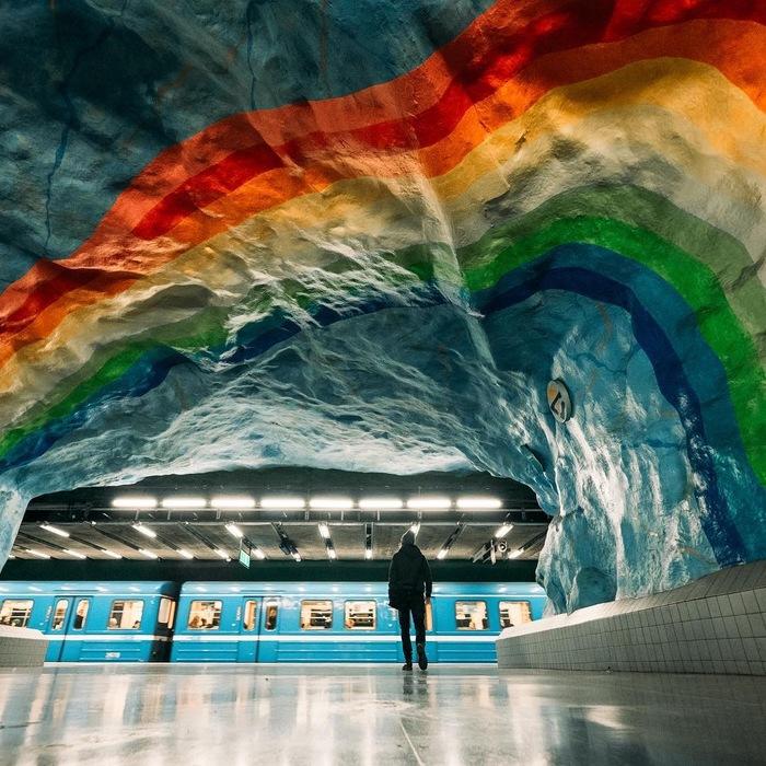 Стокгольмское метро Стокгольм, Метро, Фотография