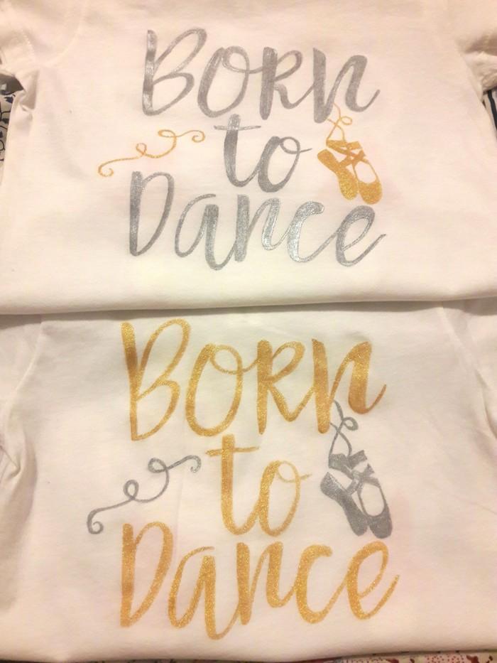 Балеринки для сестричек Рисунок, Балерины, Роспись по ткани, Длиннопост, Рукоделие без процесса