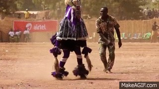 Дочь Заули Танцы, Африка, Гифка, Видео