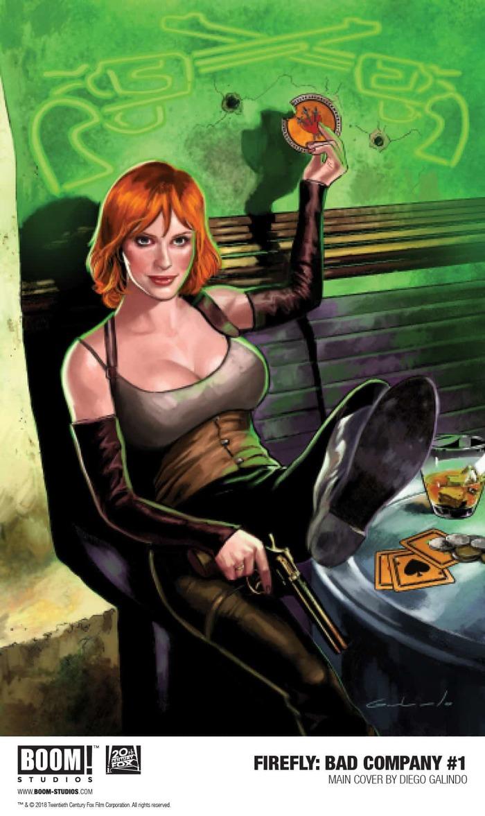 Анонсирован новый комикс по вселенной Светлячка Светлячок, Serenity, Комиксы, Саффрон, Анонс