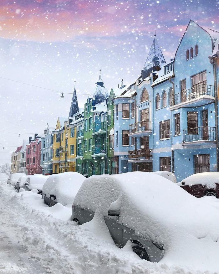 Хельсинки Хельсинки, Финляндия, Зима