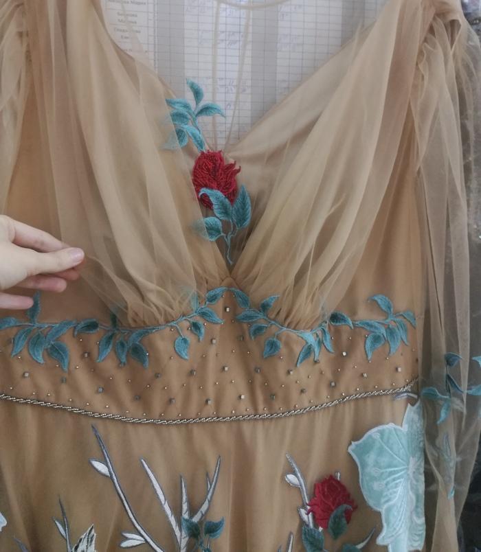 Платье нимфы Платье, Своими руками, Рукоделие без процесса, Вышивальщица, Бисер, Длиннопост