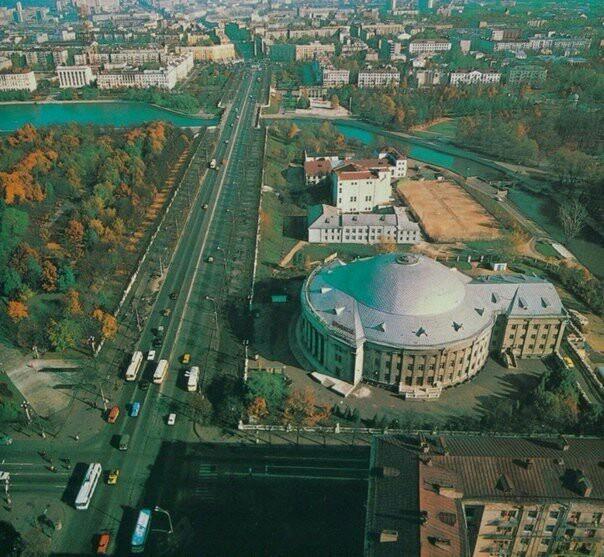 Ленинский проспект в Минске, 1970-е