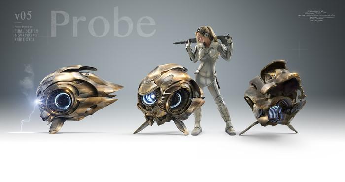 Пробка протоссов из вступительного роликаLegacy of the Void Starcraft, Starcraft 2, Blizzard, Протоссы, Ролик, Компьютерные игры, Видео, Длиннопост, 3D модель