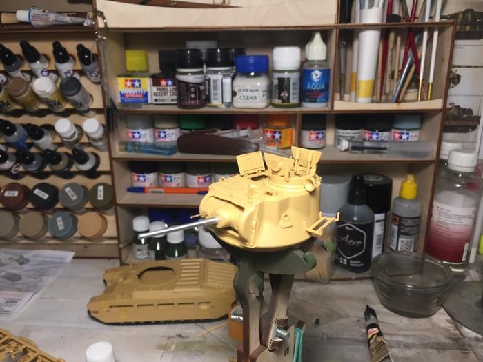 Matilda Mk.IV от Tamiya в масштабе 1:35 Стендовый моделизм, БТТ, Матильда, Маде ин британия, Вторая мировая война, Сборка, Покраска, 1:35, Длиннопост