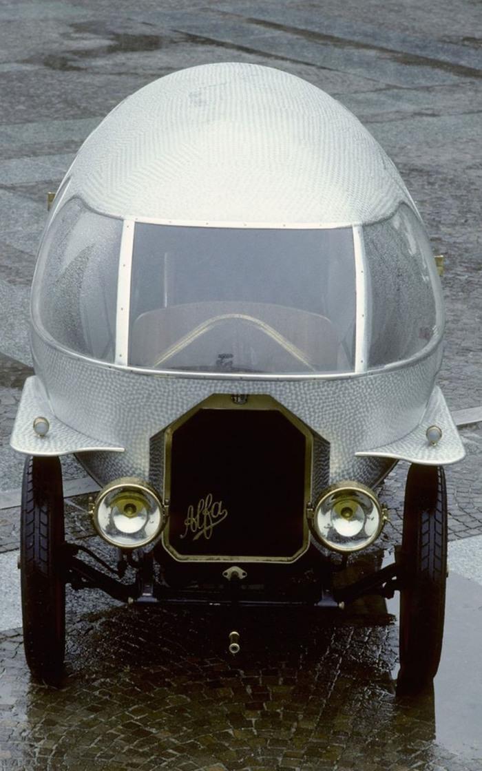 Alfa Romeo 40-60 Aerodinamica «Siluro Ricotti» 1914 года Автоистория, Alfa romeo, Длиннопост
