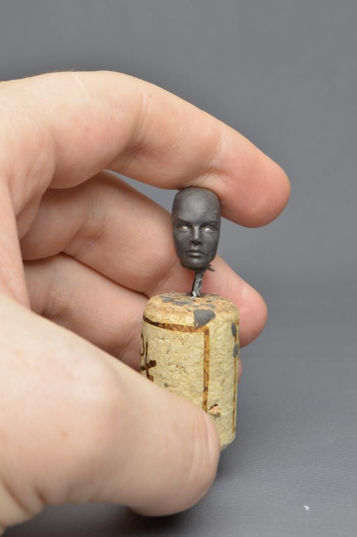 Процесс создания фигурки Re-L Mayer (ч.1. Лепка) Re-l Mayer, Ergo Proxy, Anime Art, Длиннопост, Хобби, Своими руками, Аниме, Полимерная глина