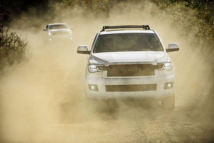 Toyota сделала огромный внедорожник для «дикого отдыха» Toyota, Toyota Sequoia, Trd PRO, Длиннопост