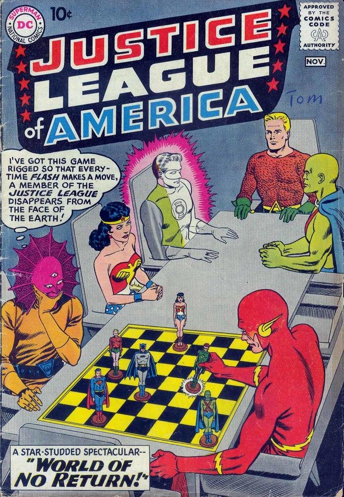 Погружаемся в комиксы: Justice League of America #1-10 Супергерои, DC Comics, Лига Справедливости, Комиксы-Канон, Длиннопост