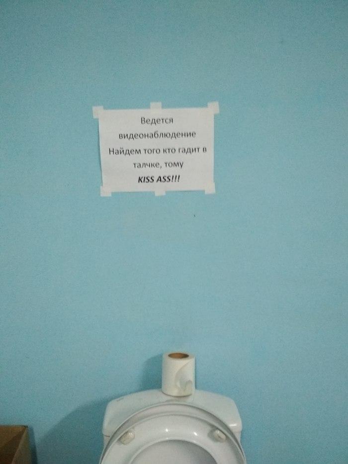 Ну и как понимать? Туалет, Юмор, Чистота, Склад