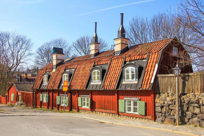 Домик в окрестностях Стокгольма