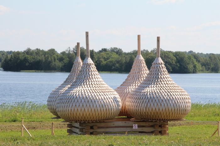 Новые купола Кижей Кижи, Купол, Деревянное зодчество, Длиннопост
