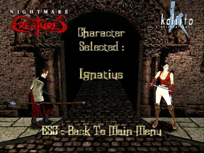 Nightmare Creatures Playstation, Playstation 1, Nightmare, Nightmare creatures, Survival Horror, Action, Dreamcast, Длиннопост