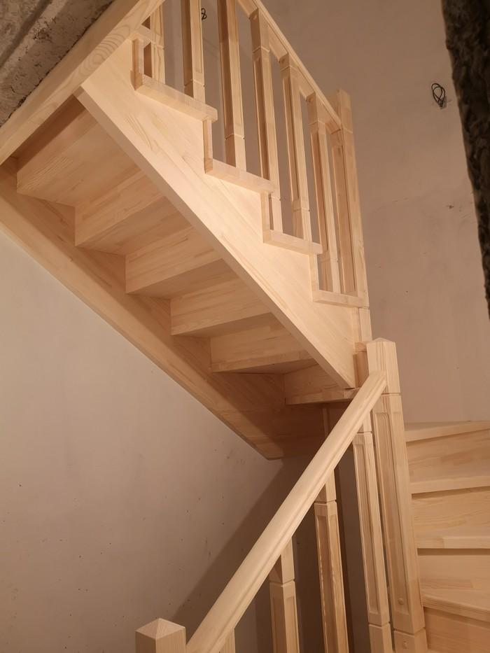 Лестница за три дня из сосны Строительство, Лестница, Дизайн, Длиннопост