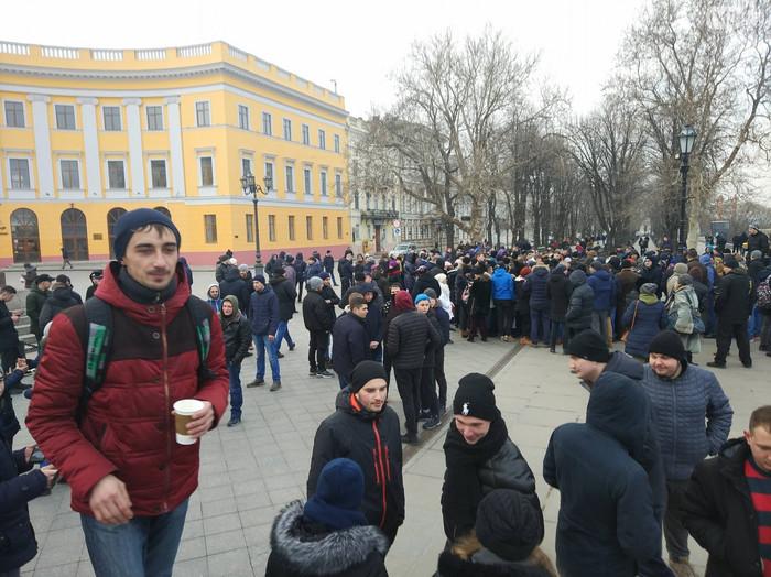 Одесситы пришли на митинг в поддержку несуществующего кандидата в президенты Украины Пранк, Украина, Выборы, Митинг, Одесса, Видео, Длиннопост