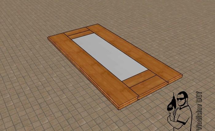 Журнальный стол из массива без единого гвоздя Мебель своими руками, Рукоделие с процессом, Мебель из массива, Мастерская на балконе, Своими руками, Видео, Длиннопост