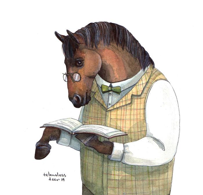 Конь Арт, Лошади, Акварель, Иллюстрации, Графика, Скетч, Рисунок, Животные