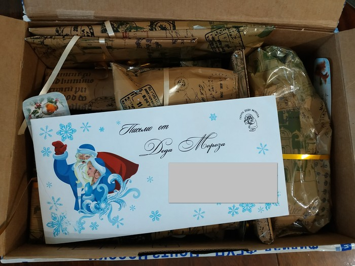 Снегурочка-альтруист Обмен подарками, Новый Год, Тайный Санта, Отчет по обмену подарками, Чебоксары, Подарок, Длиннопост