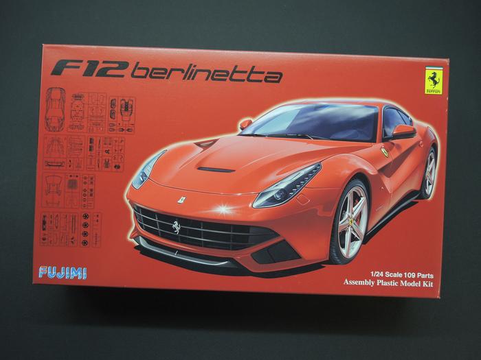 Ferrari F12 Berlinetta - Fujimi 1/24 Ferrari, Стендовый моделизм, Масштабная модель, Масштаб 24, Длиннопост