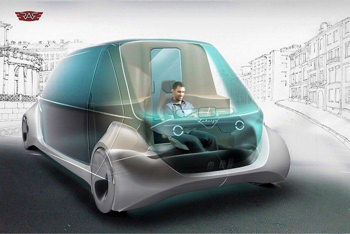 Каким будет возрожденный РАФ: первые изображения Авто, Электромобиль, Раф, Возрождение, Проект, Микроавтобусы, Техника, Технологии, Длиннопост