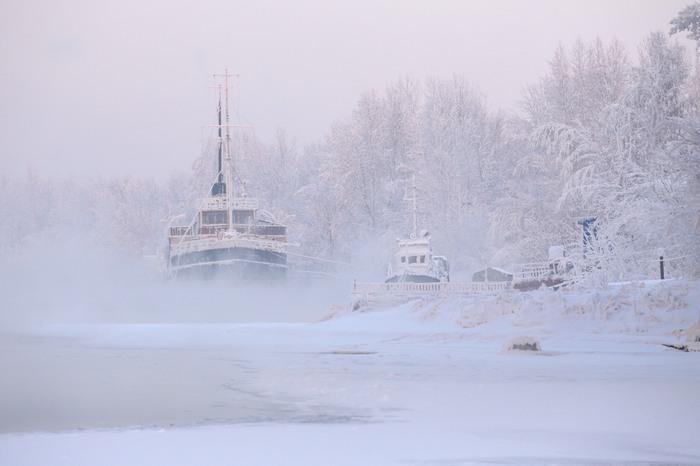 Когда -25 - это оттепель Холод, Фотография, Без фильтров, Красноярск, Длиннопост