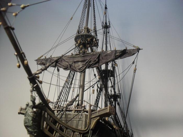 """Как строилась модель """"Черная жемчужина (в тайнике Дейви Джонса)"""". Часть 5 Черная жемчужина, Пираты карибского моря, Ручная работа, Модели из дерева, Стендовый моделизм, Длиннопост"""