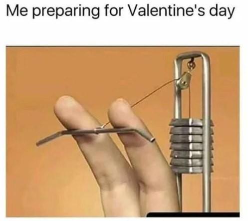 Подготовка к дню святого Валентина