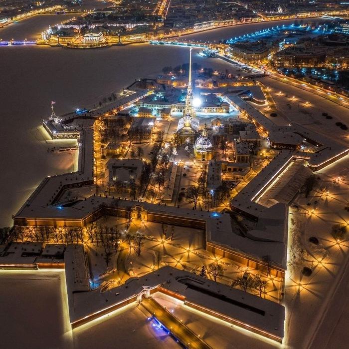 Питер. Петропавловская крепость