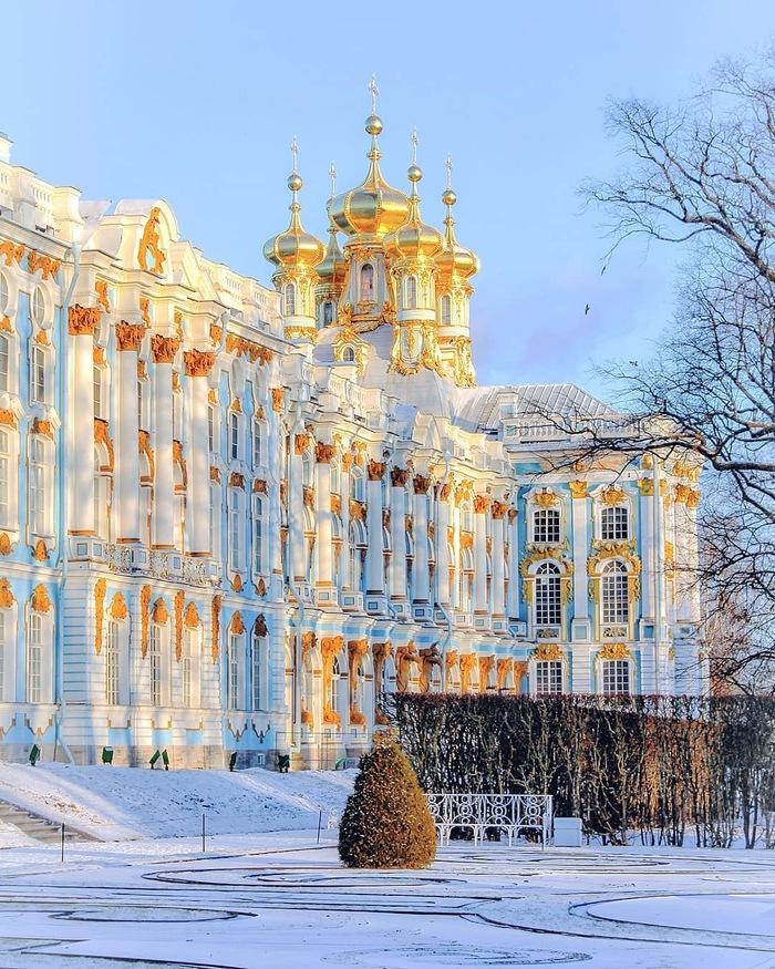 Питер. Екатерининский дворец Екатерининский дворец, Санкт-Петербург, Царское село, Фотография