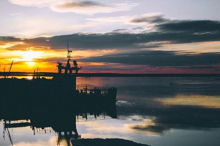 Закат. Река Конда. ХМАО. Фотография, Лига фотографов, Закат, ХМАО, Первый пост