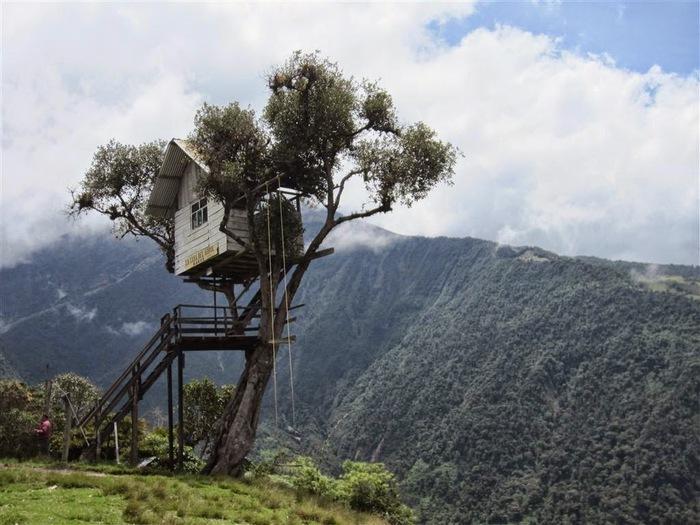 Качели The End of the World, Эквадор Качели, Эквадор, Туризм, Развлечения, Из сети, Видео, Длиннопост
