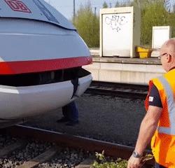 Кормление поезда