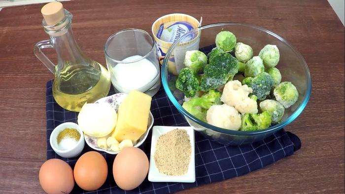 Запеканка «Трио» из овощей С дедом за обедом, Кулинария, Рецепт, Запеканка, В духовке, Еда, Видео, Длиннопост