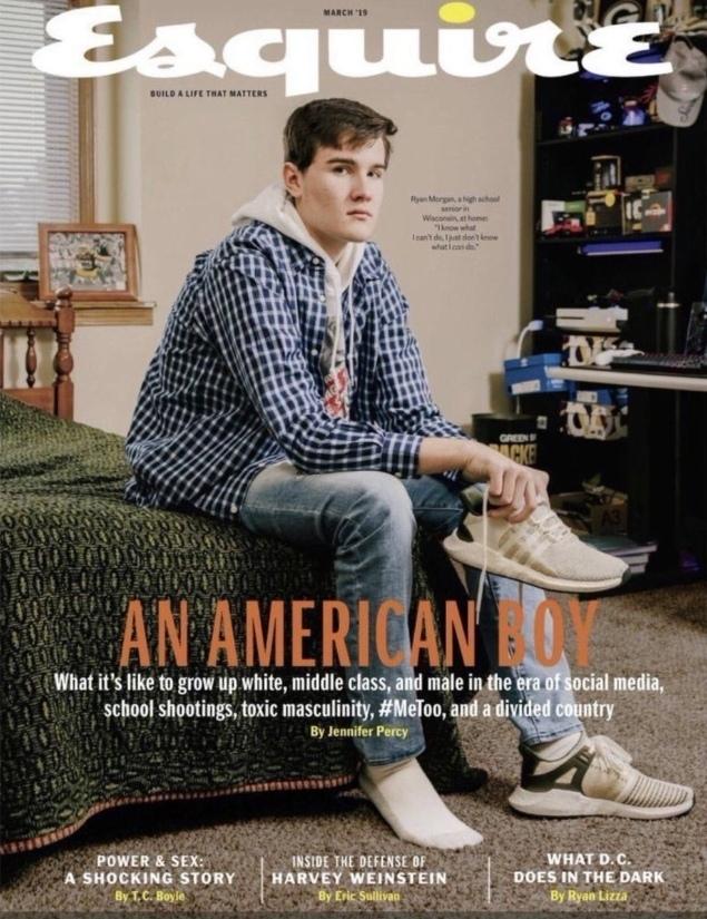 Журнал Esquire опубликовал номер о проблемах «белого гетеросексуального подростка». Подростки, Журнал, Проблема, Новости, Белый, Общество, Унижение, Расизм