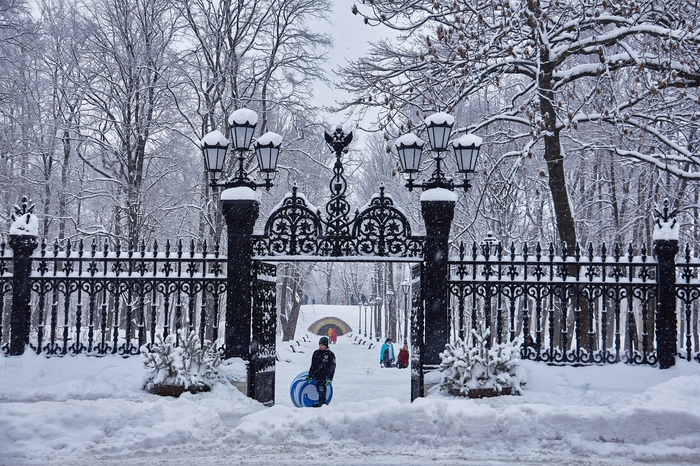 Зимний Кронштадт Кронштадт, Зима, Владимирский Собор, Корабль, Длиннопост, Фотография