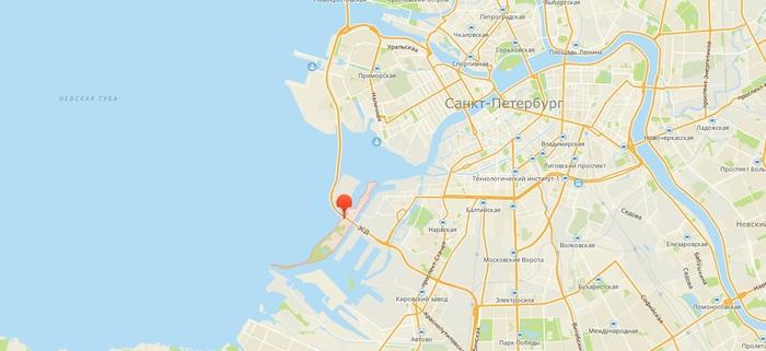 Кусок Детройтского гетто в Питере или каково жить под эстакадой. Санкт-Петербург, Канонерский остров, Зсд, Длиннопост
