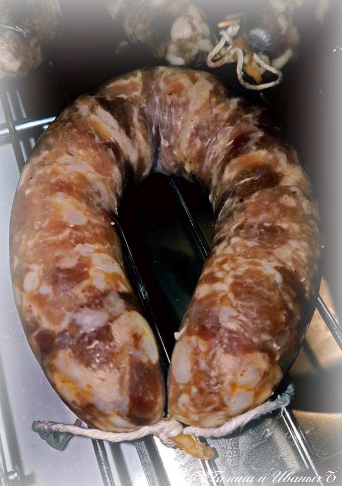 Краковская … Ñлопоты того стоили Еда, Рецепт, Колбаса, Домашняя колбаса, Длиннопост, Краковская колбаска