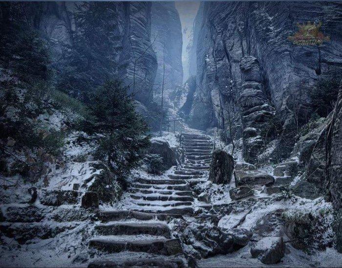 Императорский коридор в Чехии выглядит как настоящий The Elder Scrolls V: Skyrim Reddit, Чехия, The Elder Scrolls V: Skyrim