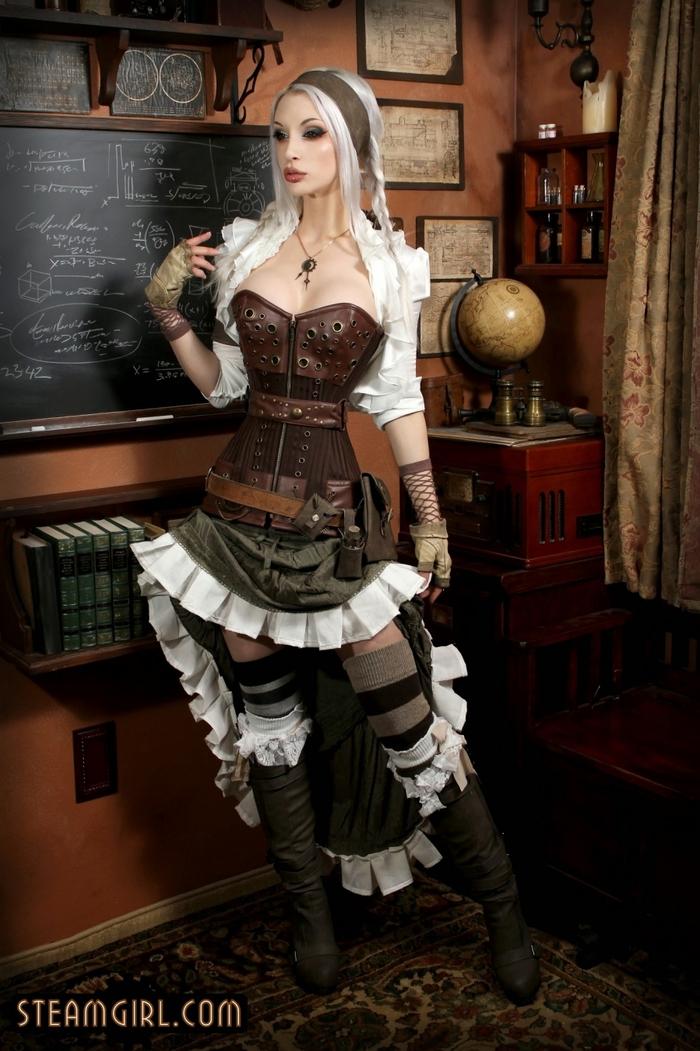 Steamgirl. Kato - Research Purpose Steamgirl, Kato, Красивая девушка, Фотосессия, Длиннопост